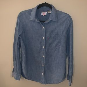 Levi's denim boyfriend fit shirt